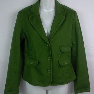 JONES NY Country Blazer Jacket Stretch Modern